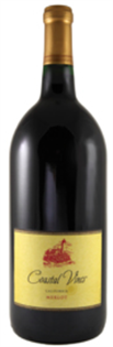 Coastal Vines Merlot 2014 750ml - Case of 12